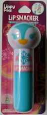 LipSmacker Lip Balm New NWT .14 oz Lippy Pals Penguin Waddling Watermelon Blue