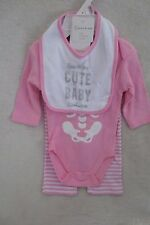 Baby Girl My First Baby Costume 3 Piece set Outfit Size 6-9 Months Pink New
