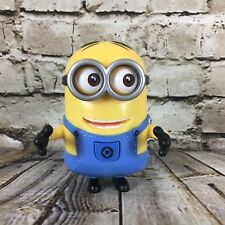 "Minion Dave Despicable Me 4.5"" Tall Thinkway Toys Figure Moving Eyes Free S/H"