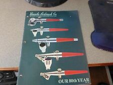 Vintage PAASCHE Airbrush Company Catalog 1984 Painting Taxidermy Tatoo Book