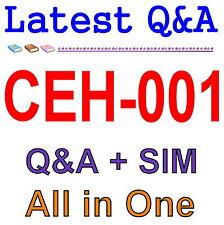 GAQM Certified Ethical Hacker CEH-001 Exam Q&A PDF+SIM