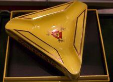 POSACENERE ashtray MONTECRISTO HABANOS triangolo ORIGINALE CERAMICA SIGARCUBANI