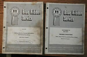 1965 INTERNATIONAL HARVESTER FARMALL 656 TRACTOR GENERAL DELIVERY SERVICE MANUAL