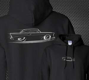 Hoodie 1957 Chevy '57 Chevrolet Bel Air 210 Delray Tri-Five