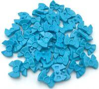 Lego 50 New Medium Azure Friends Accessories Hair Decoration Bow Heart Parts