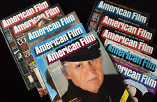 American Film magazine 10 Issues from 1982