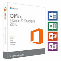 Microsoft Office 2016 Home and Student PC NEU Word Excel Office Student