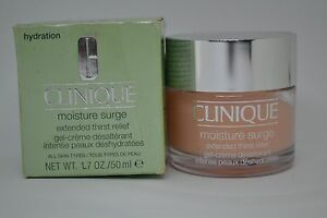 Clinique Moisture Surge Extended Thirst Relief BNIB 30ml, 50ml -all skin types-