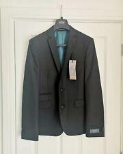Bnwt Herren Schwarz m&s Limited Edition Super Slim Fit Blazer 40 Brust L Länge Anzug