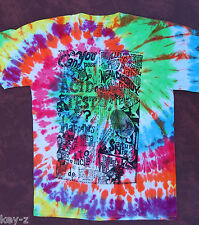 CAN YOU PASS THE ACID TEST? New T-Shirt sizes S-M-L-XL Kesey Grateful Dead Dye