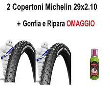 2 Copertoni Michelin MTB 29  Bici Bicicletta Country Grip 29x2.10 Rigido Gomme