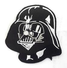 "Star Wars Darth Vader Helmet Die-Cut 3"" Embroidered Patch-FREE S&H (SWPA-CD-27)"