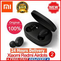 Black Xiaomi Redmi AirDots 2 TWS Earphone  Headsets Wireless Bluetooth 5.0 Mi