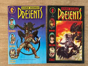 Dark Horse Presents 36 and 36 Variant First Aliens Versus Predator Unread NM