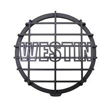 Westin Automotive Halogen Off-Road Light Cover Black Grid Only Black Universal