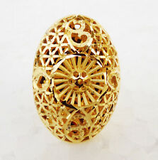 Indian Ethnic Bollywood 22k Gold Plated UK Fashion Jewelry Rings Adjustable gr3