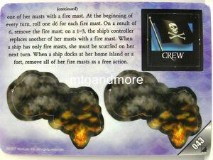 Pirates at Ocean´s Edge - #43 Firepot Specialist