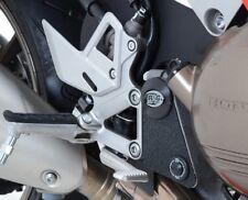 R&G Racing Eazi-Grip Boot Guard Pads Black to fit Honda VFR 800 2014 -
