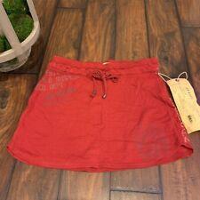 **NWT** $145 Da-Nang 100% Cotton Red Skirt X-SMALL