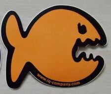 IQ Company Aufkleber - 1 Fisch orange
