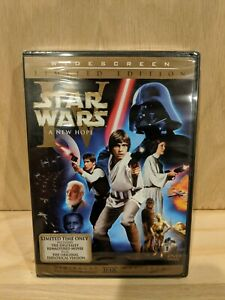 Star Wars A New Hope (DVD, 2006, 2-Disc Set, Limited Edition Widescreen) SEALED