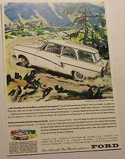 Ford Taunus 17 M Kombi Postkarte Werbung Prospekt Anzeige von 1958  # 7167