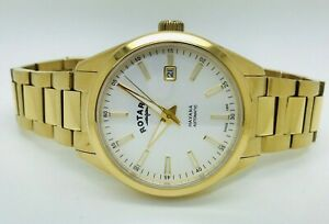 Rotary Havana Automatic GB05081/02 Gold Plated Stainless Steel Men's Watch (Box)