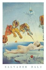 SALVADOR DALI ~ DREAM CAUSED BY A BEE FLIGHT 24x36 FINE ART POSTER Print
