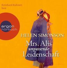 Simonson, Helen - Mrs. Alis unpassende Leidenschaft (Hörbestseller) - CD
