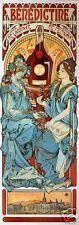Art Nouveau ' Benedictine' by Alphonse Mucha
