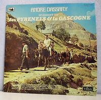 """33 tours André DASSARY Disque Vinyle LP 12"""" PYRENEES GASCOGNE - VEGA 16.056"""