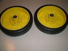 (2) 14SE/14SB/14PZ/JA65/JX75 John Deere Wheels replaces AM115138 NEW!!