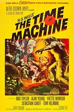 3221.H.G.Wells The Time Machine Horror movie film Poster.Room Home art decor