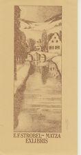 E.F.Strobel-Matza (3)  EXLIBRIS