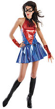 Marvel Spider Girl Daughter of Spiderman Deluxe Adult Womens Costume Sz L 12-14