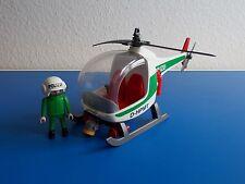 Playmobil ® 3907 helicóptero de la policía como se muestra en la imagen sin OVP