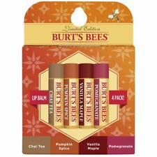 Burt's Bees | Natural Moisturizing Lip Balm | Fall Variety Pack 4 Tubes, 4 Pack