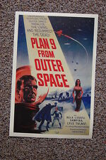 Plan 9 from Outer Space Lobby Card Movie Poster