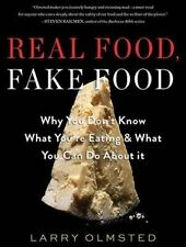 Real Food Fake Food Why You Don't Know What You're Eating W by Olmsted  CD-AUDIO