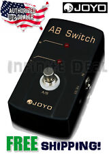 New Joyo JF-30 AB A/B Switch Guitar Switching Pedal Effects Pedal