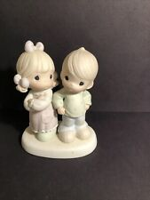 """New Listing1996 Precious Moments Figurine """"Sometimes You're Next To Impossible"""""""