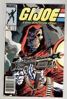 G.I Joe, A Real American Hero 43 VF/NM 9.0 Newsstand Marvel Comics 1985
