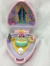Polly Pocket Polly's Big Night Out Ring and Case COMPLETE 1991 Bluebird