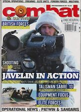 COMBAT AND SURVIVAL MAGAZINE FEB 2014, SPECIAL OPERATION-FIREARMS-ELITE UNITS.