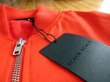 BLVCK SCVLE Red Bomber Jacket sz XL  black scale supreme stussy t-shirt hoody