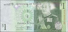 TWN - TONGA 37b - 1 Pa'anga 2014 UNC Prefix B