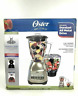 Oster Classic Series Blender PLUS Food Chopper - Red Metallic - Glass Jar