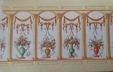 MINIATURE DOLLHOUSE mini graphics wallpaper- natasha french bouquet