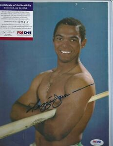 Reggie Jackson NY Yankees Baseball Autographed 8x11 Magazine Picture PSA COA