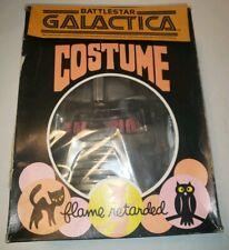 Battlestar Galactica Cylon Halloween Costume 1978 Ben Cooper Collegeville RARE